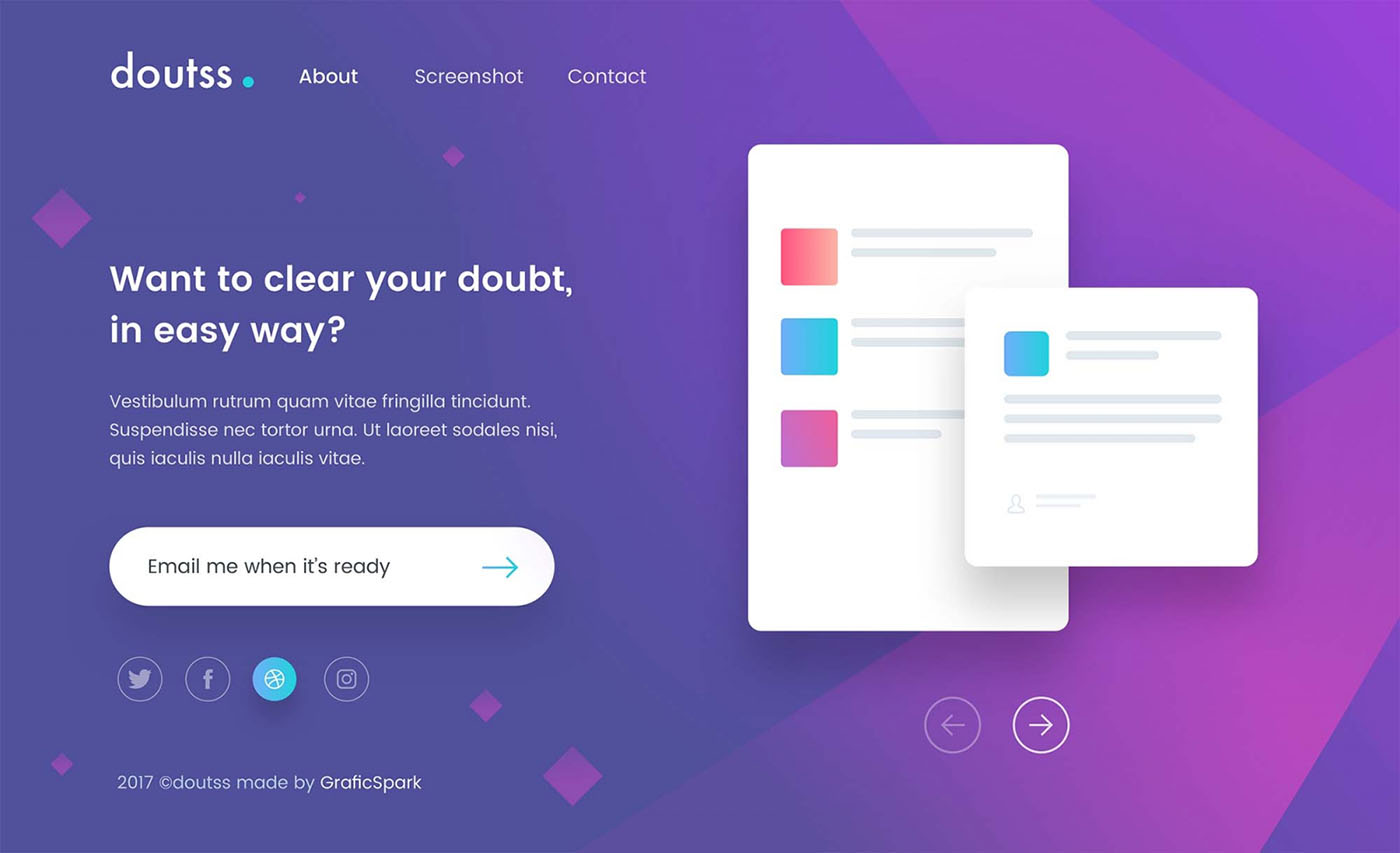Doutss-Landing-Page