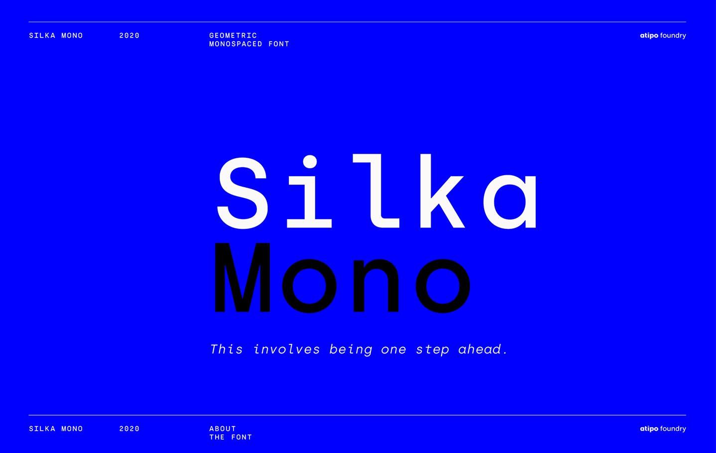 silka_mono_font